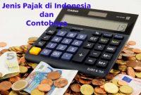 Jenis Pajak di Indonesia