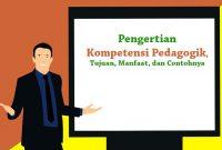 Pengertian Kompetensi Pedagogik
