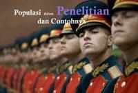 Contoh Populasi