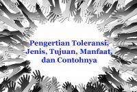 Toleransi Adalah