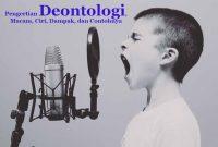 Deontologi Adalah