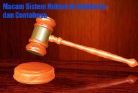 Jenis Sistem Hukum
