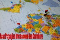 Contoh Asas Perjanjian Internasional