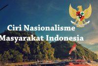 Ciri Nasionalisme di Masyarakat