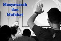 Contoh Musyawarah dan Mufakat